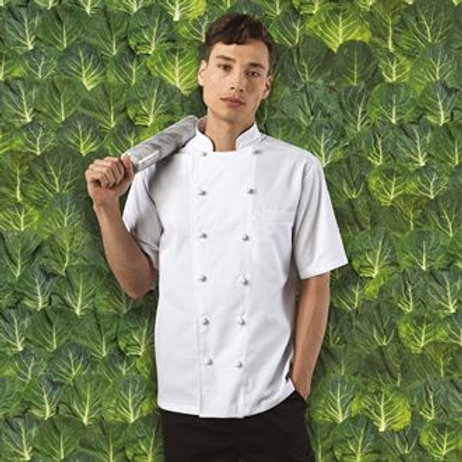 PR662 Ambassador short sleeve chef's jacket