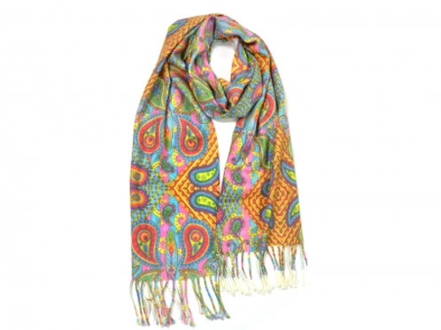 Your print on a scarf