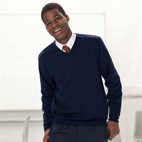 J710M V-neck knitted sweater XXS - 4XL
