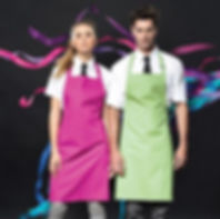 PR150 Colours bib apron by creative stud