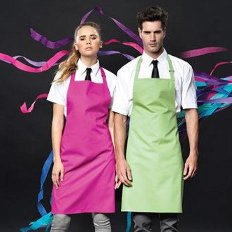 PR150 Colours bib apron One size