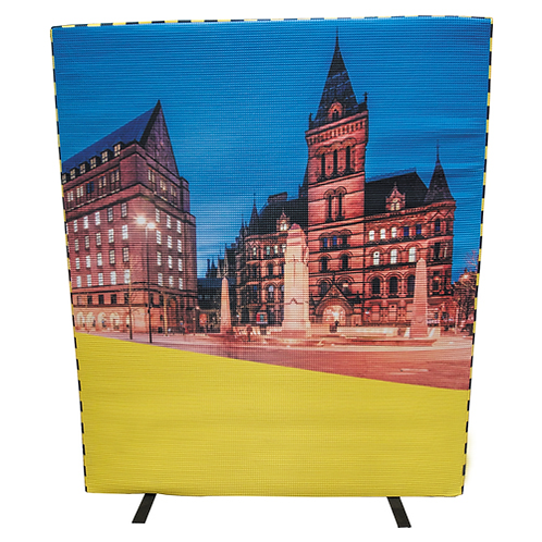 Manchester Accoustic Screen Cover