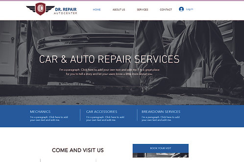 CS103 Pay Monthly Vehicle or Services Site