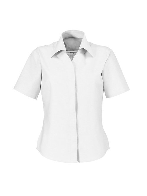 Women's Oxford short sleeved shirt