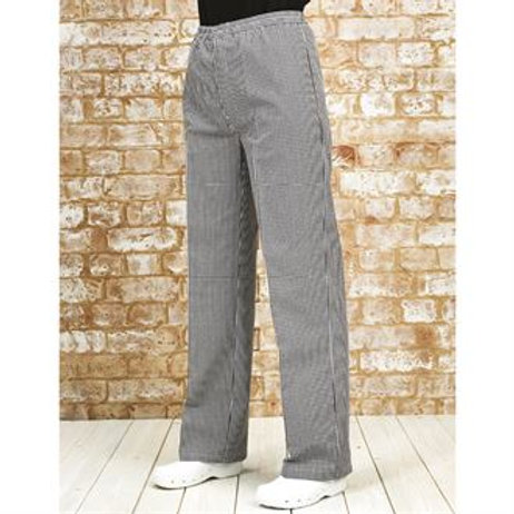 PR552 Pull-on chef's trousers