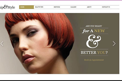 CS102 Pay Monthly Hair & Beauty Site