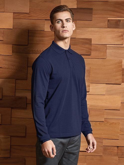PR997 Unisex long sleeve Polo Shirt