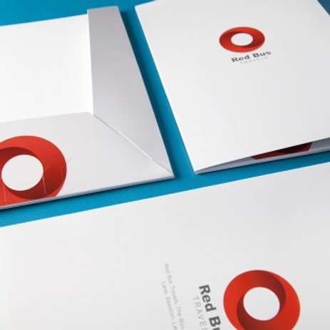 25 Presentation Folders*