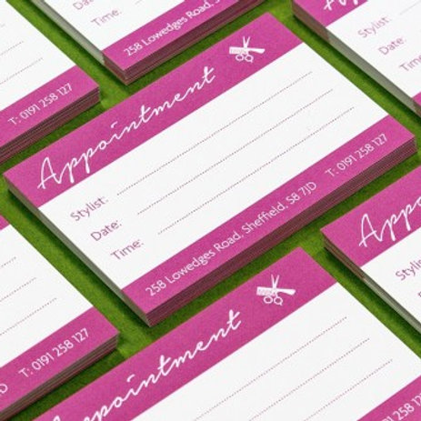 100 Appointment Cards*