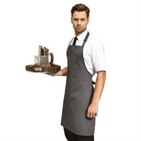 PR167 100% Polyester bib apron One size