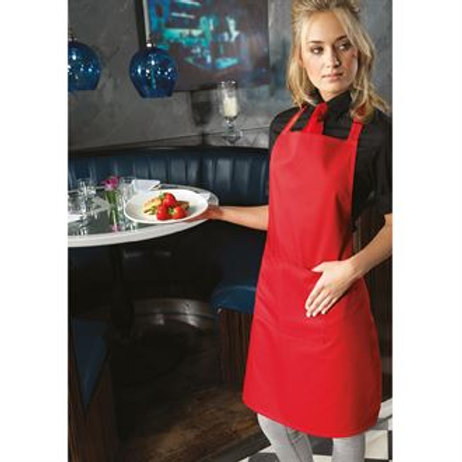 PR154 Colours bip apron with pocket One size