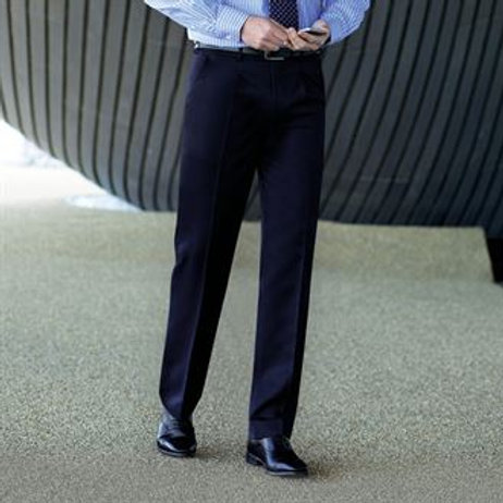 """BR064 Delta single pleat trousers 32"""" - 40"""" Reg"""