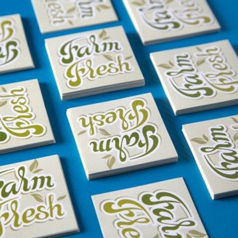 50 Self Adhesive Stickers*