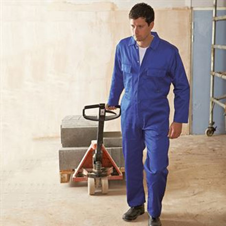 PW200 Euro work polycotton coverall