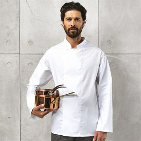 PR659 Coolmax® long sleeve chef's jacket