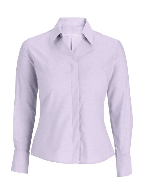 Women's Oxford long sleeved shirt