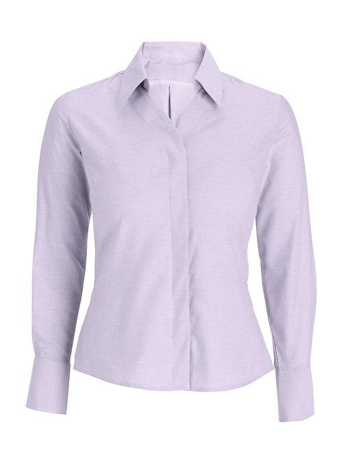Women's Oxford long sleeved shirt