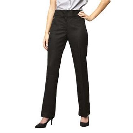 PR532 Women's flat front hospitality trouser