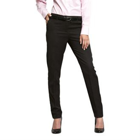 PR538 Women's tapered fit polyester trousers