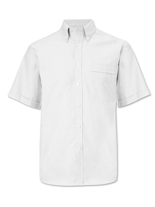 Men's Oxford short sleeved shirt