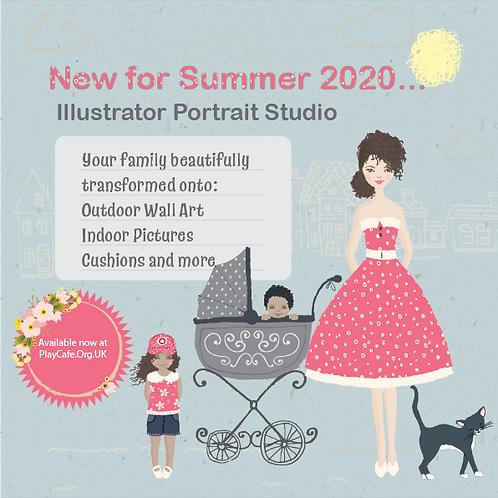 Illustrator Portrait Creator