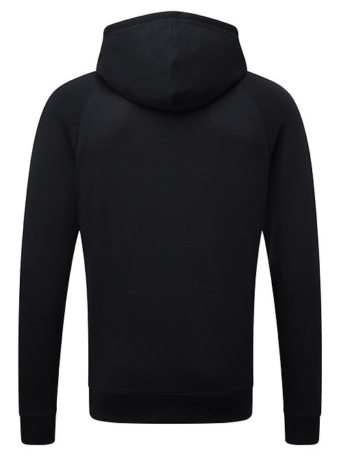 Mens Soft touch personalised Hoodie BLACK