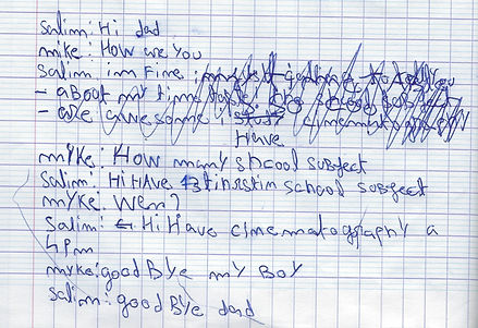 Marc écriture avant