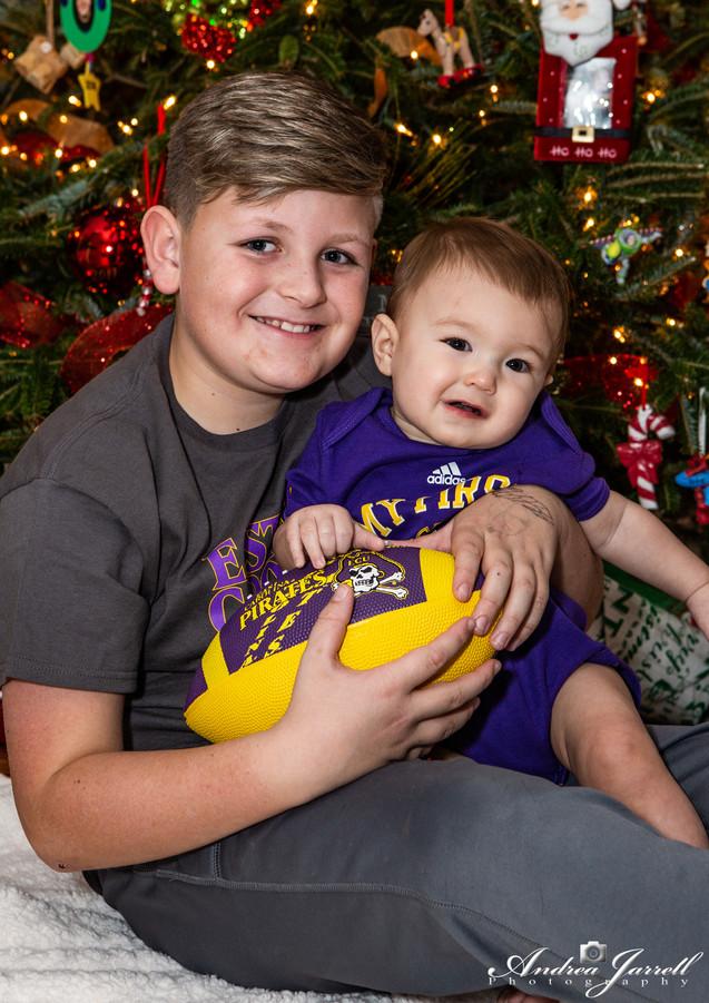 Cousins Eli and Jaxton