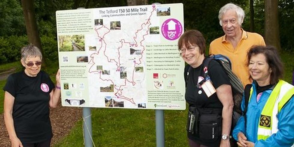 Our 3rd Sunday Walk -  Get Telford Walking - Stirchley