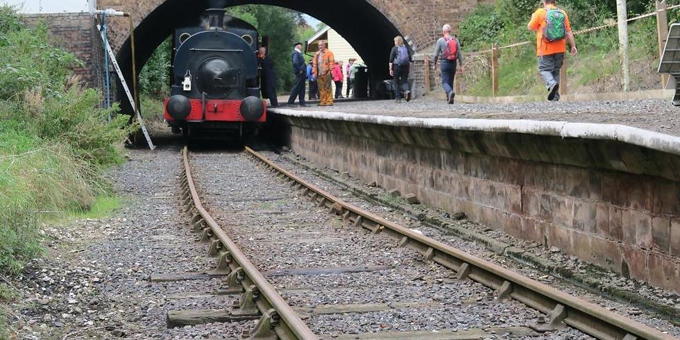 25.Telford Steam Railway  (TSR)- Walk and Tour