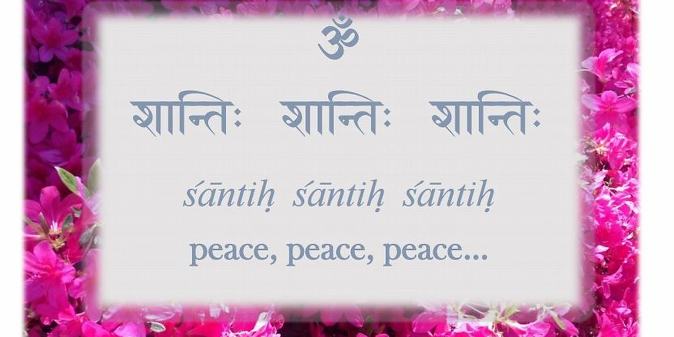 """WHO AM I? """"Enjoy exploring this universal question during a morning of peaceful Sanskrit chanting"""""""