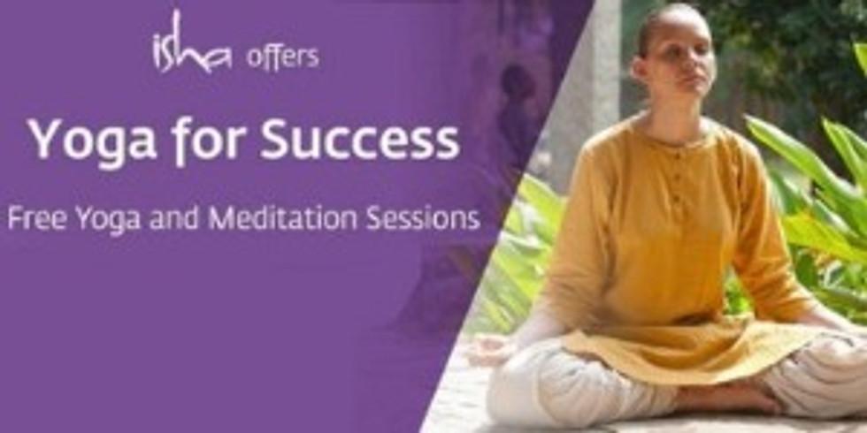 Free Yoga classes at Isha Yoga Centre
