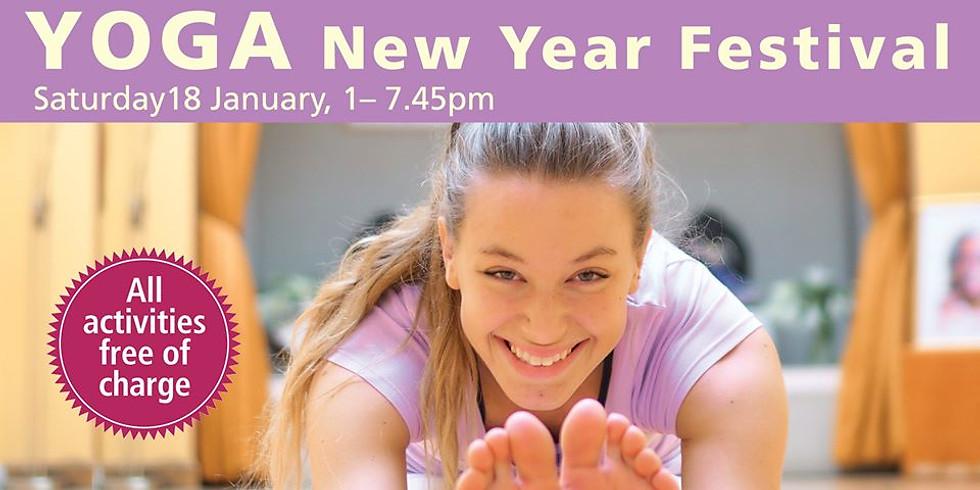 Free Yoga New Year Festival
