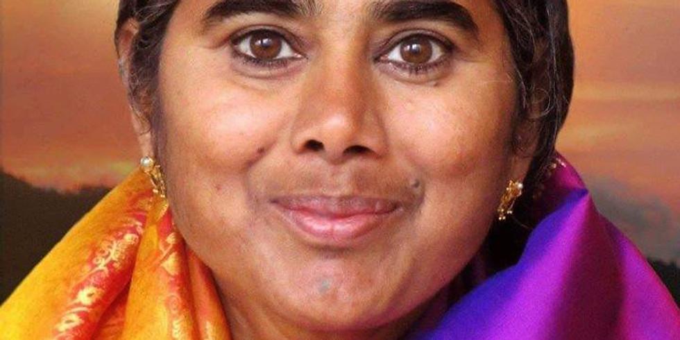 Mother Meera meditation meetings