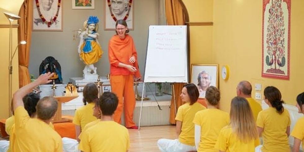 Free meditation, chant and talk. (1)