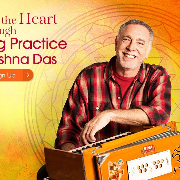Chanting Practice with Krishna Das