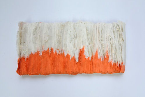 Neon Orange Maquette made in Porcelain by  Sara Dodd