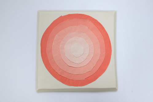 Concentric Circle Artwork by Sara Dodd in Porcelain