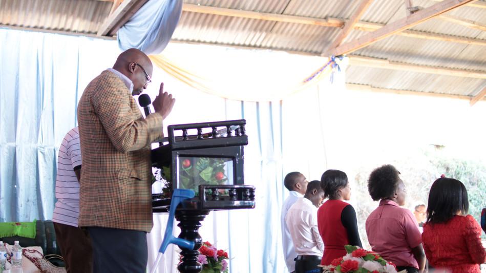 Asikiwe Lutufyo - Senior Pastor of Gospel Power House