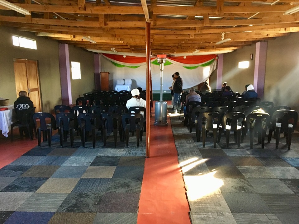 What a 9:00a meeting looks like at 9:30a in Maseru, Lesotho. — in Maseru, Lesotho.