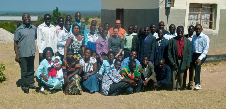 Leaders equipped in Luwingu, Zambia