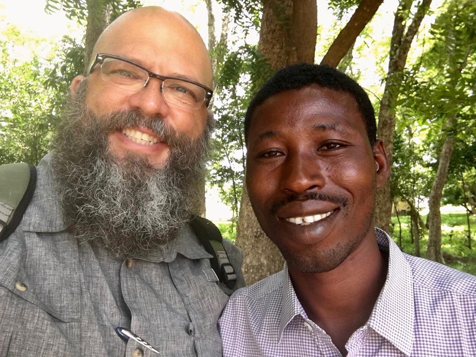 Victor & I exchanged selfies. — in Sandema Balansa, Upper East, Ghana.