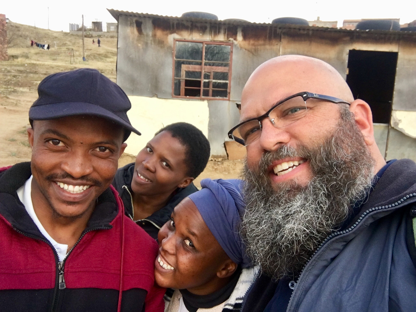 Outreach team in Maseru, Lesotho