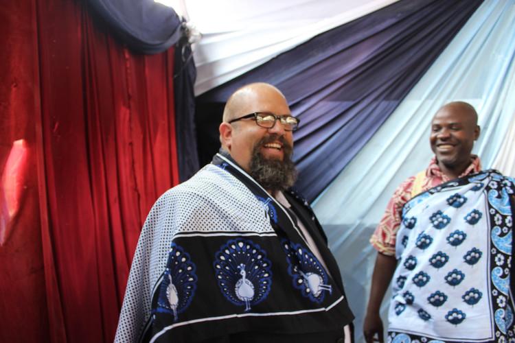 The gift of Chitenge in Tanzania