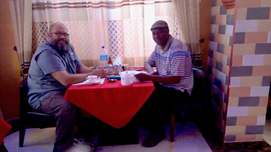 Breakfast together with Wandamba