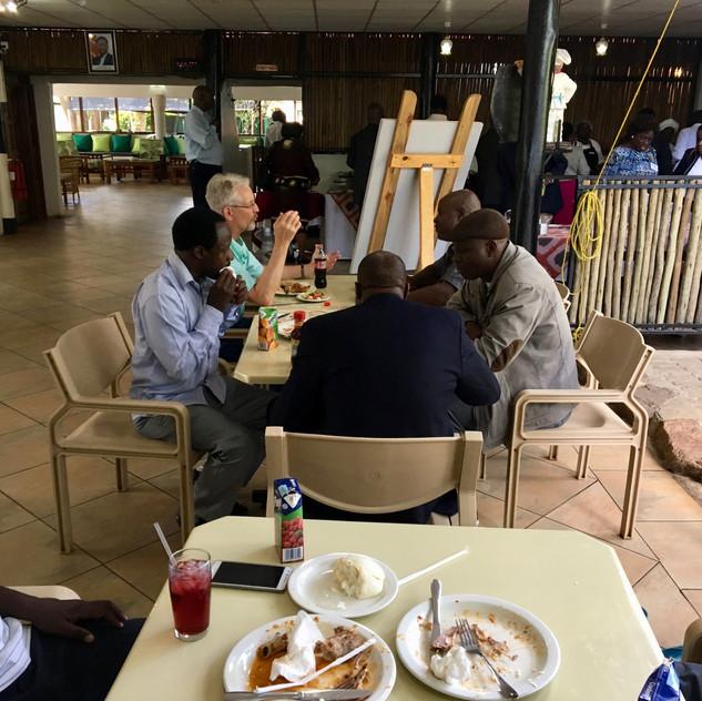 Reuben Mwambola (Rwanda), Scott Henderson (Texas), Azikiwe Lutufyo (Tanzania),  Israel Wandamba (Tanzania), Sainet Phiri (Zambia)