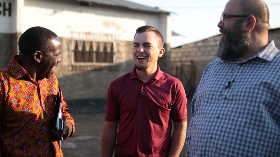 Njovu, Josh, & I enjoying one another. One of the things I enjoy most about our ministry, as a whole, and specifically about our teams in Sub-Saharan Africa is the joy and humor we share.  Our times of ministry together are characterized by diligent work and laughter.