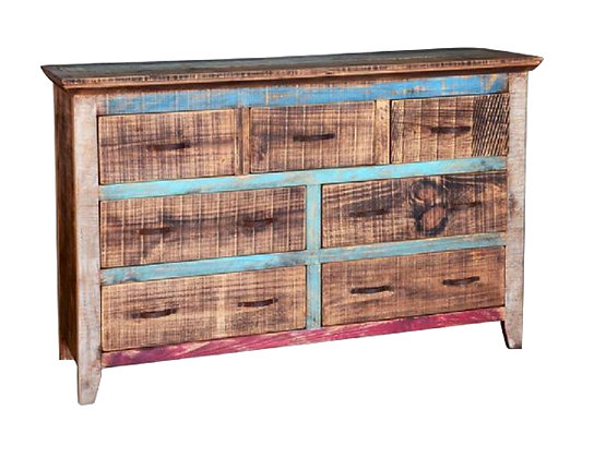Cabana Bedroom Set King W/ Medium 7 Drawer Dresser