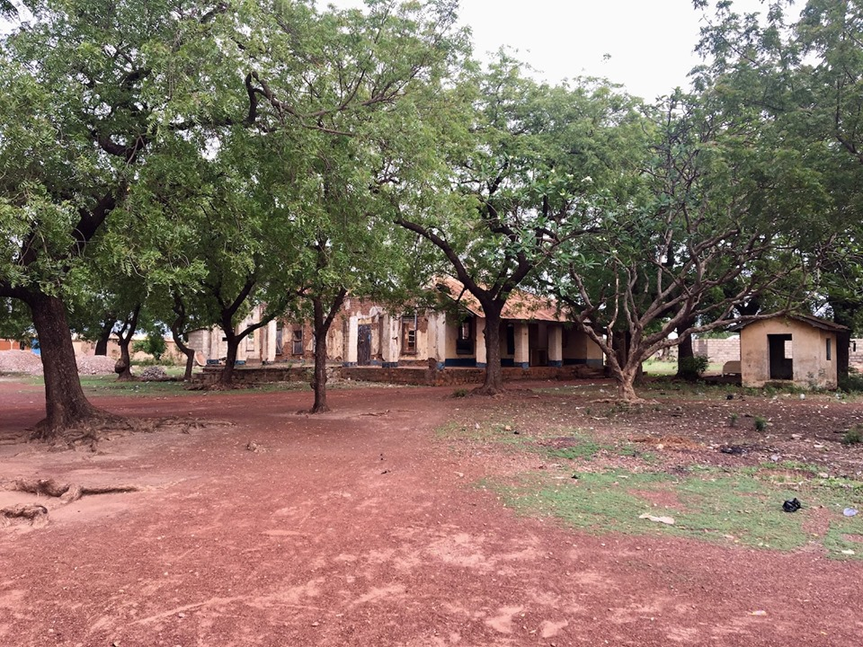 This is the original house of the first missionaries from the U.S. to Walewale, Ghana. It is now in ruins. — in Walewale, Northern, Ghana.