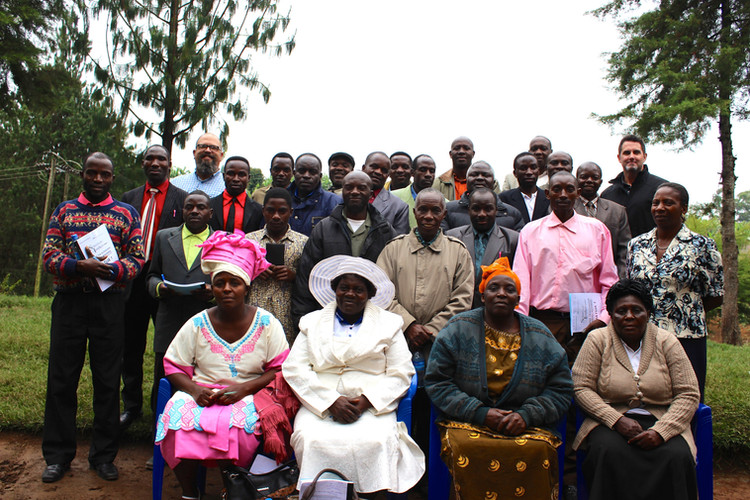Leaders equipped in Tukuyu, Tanzania